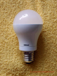 LED Lampe Osram LED Star Classic A 60 Seitenansicht